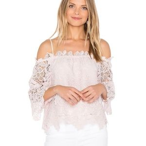 Nordstrom ASTR the label small lace top